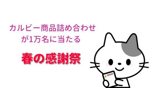 カルビー春の感謝祭 当らないけど一応参戦!?